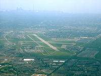 Toronto/Downsview Airport (Downsview Airport), Toronto, Ontario Canada (CYZD) - Overflying, heading west for YYZ - by William Kelly