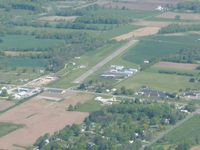 Tri-city Airport (3G6) - Looking NW from 3500' - by Bob Simmermon