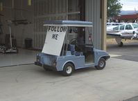 Agua Dulce Airport (L70) - 'Follow Me' cart - by Doug Robertson