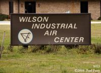 Wilson Industrial Air Center Airport (W03) - New sign, sporting an airport diagram - by Paul Perry