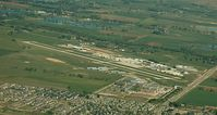 Vance Brand Airport (LMO) - Longmont from the air - by Ed Post