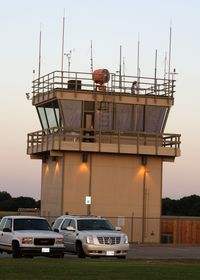 Collin County Regional At Mc Kinney Airport (TKI) - McKinney Tower - by Timothy Aanerud