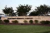 Collin County Regional At Mc Kinney Airport (TKI) - Welcome sign - by Timothy Aanerud