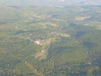 Sky Acres Airport (44N) - Looking south from 4500' - by Bob Simmermon
