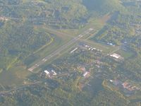 Venango Regional Airport (FKL) - Looking north from 9500' - by Bob Simmermon