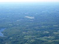Sullivan County International Airport (MSV) - Easy to spot on a clear day. - by Bob Simmermon