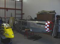 Santa Paula Airport (SZP) - Legendary Aircraft LLC, 70% scale P-51D MUSTANGS in Area 51. - by Doug Robertson