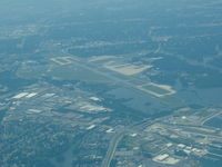 Norfolk International Airport (ORF) - Norfolk International from 3000 ft looking West - by Joseph Trombino