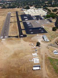 Santa Ynez Airport (IZA) - Santa Ynes from my Pietenpol - by Mike Madrid