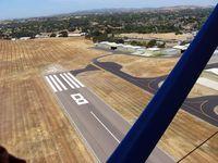 Santa Ynez Airport (IZA) - Departing Santa Ynez - by Mike Madrid