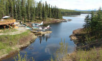 Carl's Landing Airport (AK19) - A beautiful location , on the main road into  Talkeetna ,Alaska - by Terry Fletcher