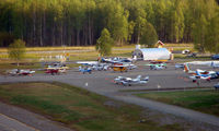 Talkeetna Airport (TKA) - An overview of Talkeetna State Airport , Alaska - by Terry Fletcher