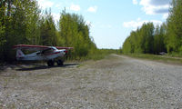 Talkeetna Village Strip Airport (AK44) - The Talkeetna Village Airstrip is preserved on the National Register for the part is played in the pioneering flights involving Mt.McKinley - by Terry Fletcher