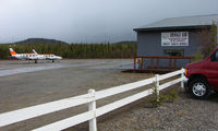 Denali Airport (AK06) - Denali is a small airfield but base to a small number of flightseeing Air Taxis - by Terry Fletcher