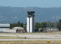 Norman Y. Mineta San Jose International Airport (SJC) - San Jose Tower from the viewing area in Terminal C - by Timothy Aanerud