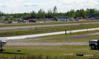 Bradley Sky-ranch Airport (95Z) - Bradley Skyranch , North Pole - a view across the main GA ramps - by Terry Fletcher