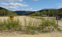 Chena Hot Springs Airport (AK13) - A view up the strip at Chena Hot Springs Resort , Alaska - by Terry Fletcher