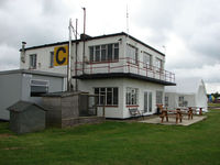 Wickenby Aerodrome Airport, Lincoln, England United Kingdom (EGNW) - Wickenby EGNW Control Tower , Museum and Cafe - by Terry Fletcher