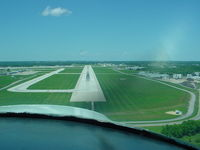 Chicago/rockford International Airport (RFD) - On final runway 1 - by Trace Lewis