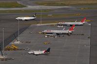 Vienna International Airport, Vienna Austria (VIE) - Parking Stands H41 to H50 - by Yakfreak - VAP