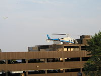 St Luke Hospital Heliport (MN48) - St. Luke's Hospital in Downtown Duluth, a Level II Trauma Center. - by Mitch Sando