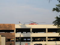 St Mary's Hospital Heliport (MN33) - The Alternate LZ at St. Mary's Duluth (which is the top of a parking ramp). - by Mitch Sando