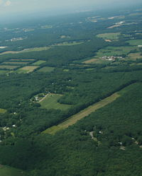 Wysocki Field Airport (CT15) - Flying by Wysocki Field - by Dave G