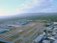 Van Nuys Airport (VNY) - Crossing the runways on a Stagg arrival in to KVNY - by Iflysky5