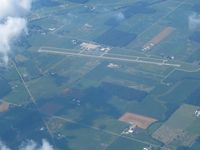 Neil Armstrong Airport (AXV) - Lookng NW from 11,500' - by Bob Simmermon