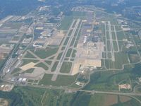 Port Columbus International Airport (CMH) - Looking west - by Bob Simmermon
