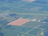 Randolph County Airport (I22) - Looking SE from 10,000' - by Bob Simmermon