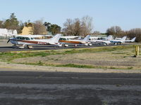 University Airport (EDU) - Cal Aggie Flyers (Aero Club) Cessnas @ University Airport (formerly 2Q6) at Davis, CA - by Steve Nation