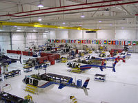 Fort Worth Alliance Airport (AFW) - Bell Training Academy Main Hangar - by Iflysky5