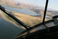 Owyhee Reservoir State Airport (28U) - flying in from north - by shawn coleman
