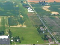 Ada Airport (0D7) - Looking west from 2500' - by Bob Simmermon