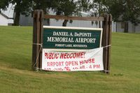 Forest Lake Airport (25D) - Entrance to Forest Lake, MN - by Timothy Aanerud