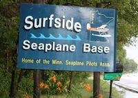 Surfside Seaplane Base (8Y4) - Entrance sign - by Timothy Aanerud