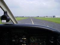 Hawarden Airport, Chester, England United Kingdom (EGNR) - on the taxiway - by chrishall