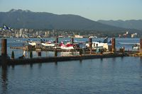 Vancouver Harbour Water Airport (Vancouver Coal Harbour Seaplane Base), Vancouver, British Columbia Canada (CXH) - Baxter Aviation and West Coast Air areas - by Michel Teiten ( www.mablehome.com )