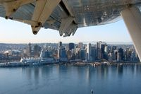 Vancouver Harbour Water Airport (Vancouver Coal Harbour Seaplane Base), Vancouver, British Columbia Canada (CXH) - Coal Harbour seen a moment after take-off on board a DHC-3 from Harbour Air bound to Victoria - by Michel Teiten ( www.mablehome.com )
