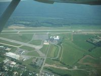 Williamsport Regional Airport (IPT) - leaving Williamsport - by tconrad