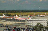 Vienna International Airport, Vienna Austria (LOWW) - EM FOOTBALL FINAL - by Delta Kilo