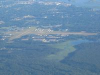 Grand Haven Memorial Airpark Airport (3GM) - Looking north from 6000' - by Bob Simmermon