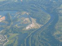 Riverview Airport (08C) - Looking NW from 6000' - by Bob Simmermon