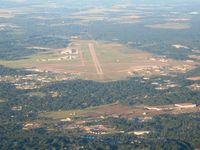 W K Kellogg Airport (BTL) - Lookng SW from 6000' - by Bob Simmermon