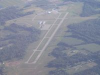 South Haven Area Regional Airport (LWA) - Looking south from 7500' - by Bob Simmermon