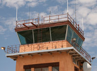 Santa Fe Municipal Airport (SAF) - Santa Fe Municipal  - Tower Cab on Terminal Building - by Zane Adams