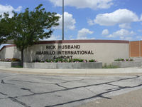 Rick Husband Amarillo International Airport (AMA) - Amarillo International - Named after Columbia Astronaut Rick Husband - Lost during re-entry 2003 - by Zane Adams