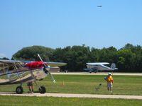 Wittman Regional Airport (OSH) - Airventure 2008 - Oshkosh, WI - by Bob Simmermon