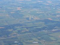 Ottawa Executive Airport (Z98) - Looking south from 7500' - by Bob Simmermon